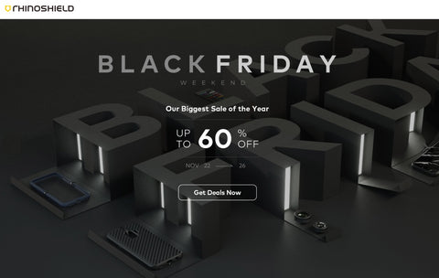 RhinoShield Black Friday Cyber Monday Sale