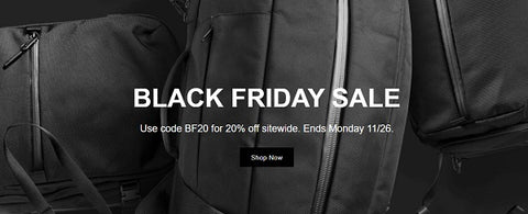Aer Black Friday Cyber Monday Sale