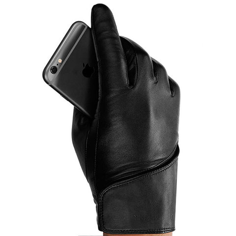 Mujjo Leather Touchscreen Gloves