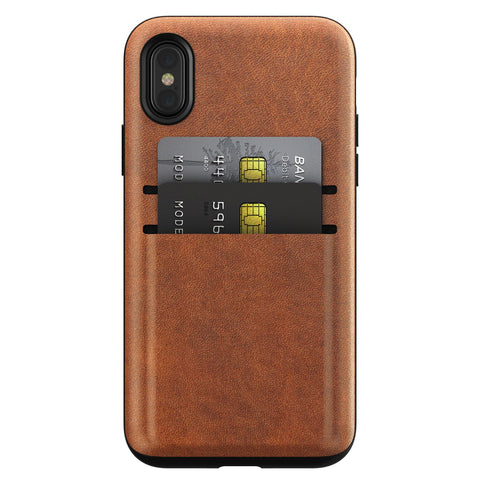 Nomad Card Case for iPhone X