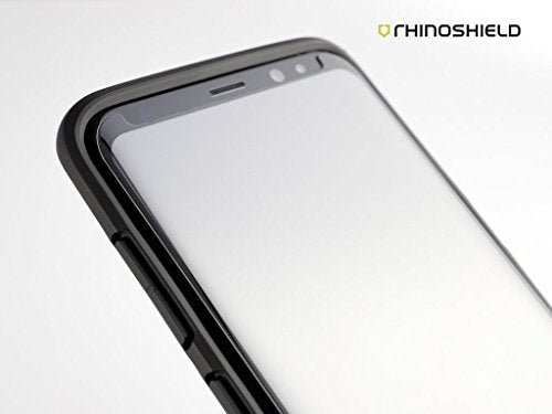 RhinoShield 9H 3D Curved Tempered Glass Screen Protector for Samsung S8/S8+