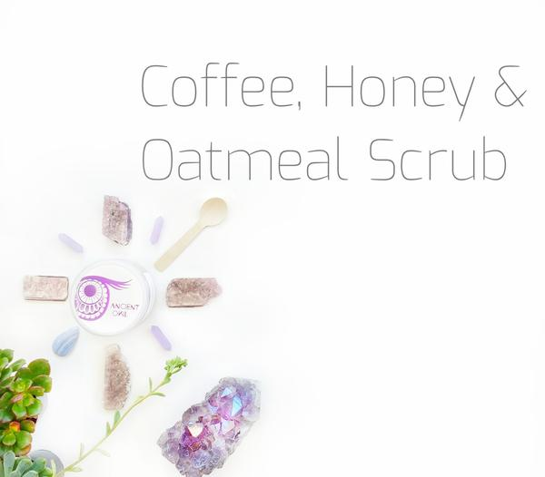 Coffee Honey & Oatmeal Scrub