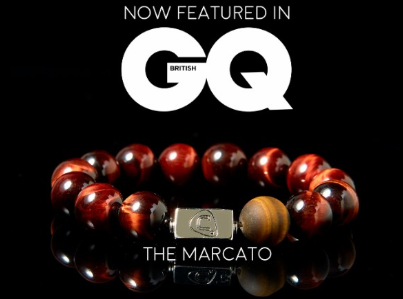 Clefstar Marcato Bracelet Featured in GQ[British] Magazine