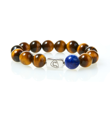The Cadence Company | Men's Beaded Bracelets | Men's Leather Bracelets | Chakras | Sterling Silver