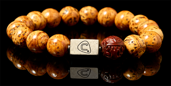 Curator | Men's Bracelet - The Cadence Company | Sterling Silver, Exotic Leathers & Rare Stones | Rugged Refined | Men's Beaded Bracelets | Men's Leather Bracelets | Handmade Bracelets | Lotus Seed