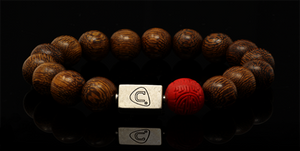 Diaspora | Men's Bracelet - The Cadence Company | Sterling Silver, Exotic Leathers & Rare Stones | Rugged Refined | Men's Beaded Bracelets | Men's Leather Bracelets | Handmade Bracelets | Sandal Wood