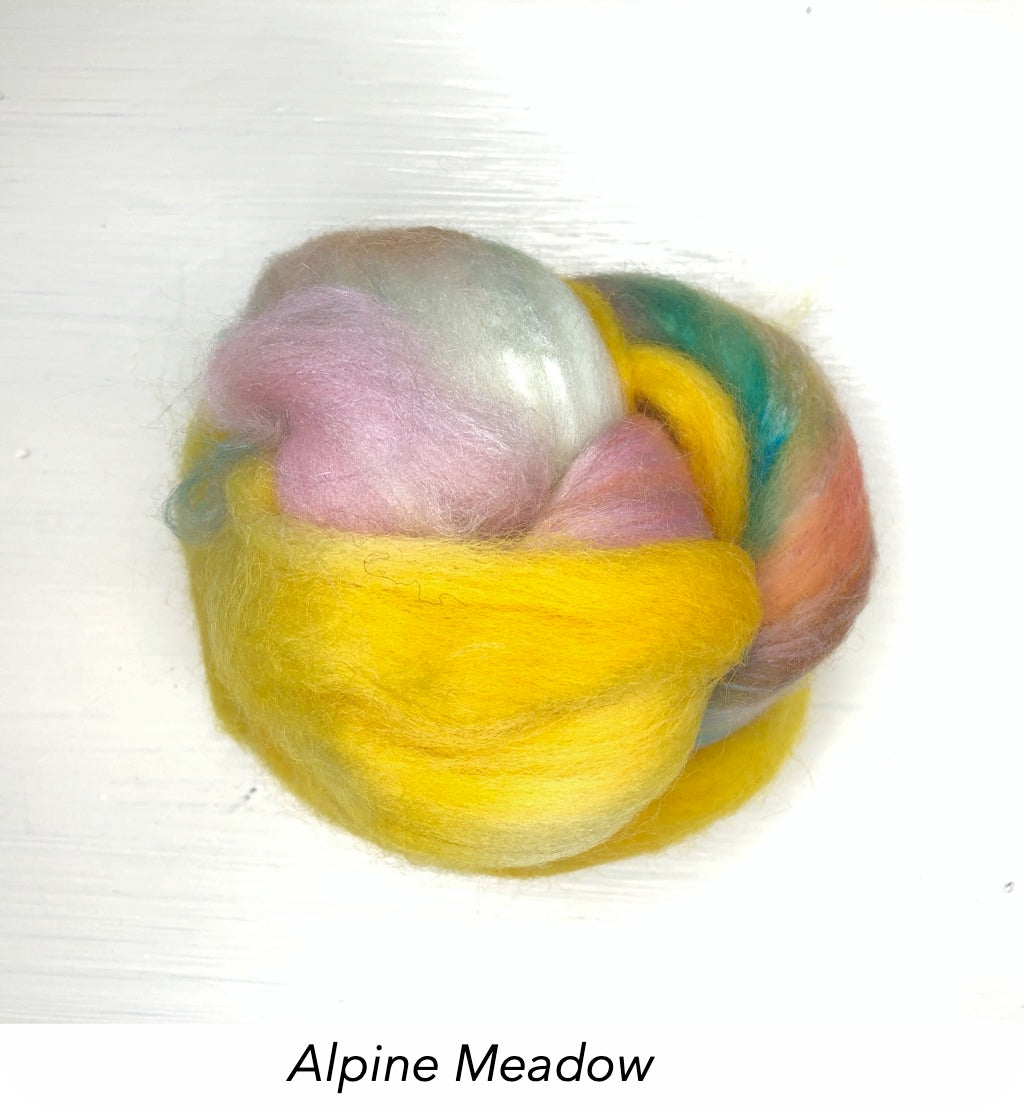 Wet Felting Fibre - Spring Mini Sets