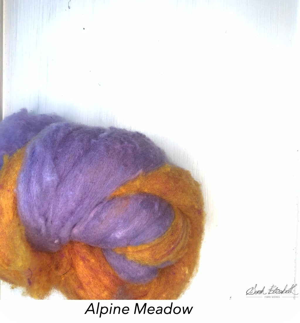 Canadian Merino Batts - Alpine Meadow