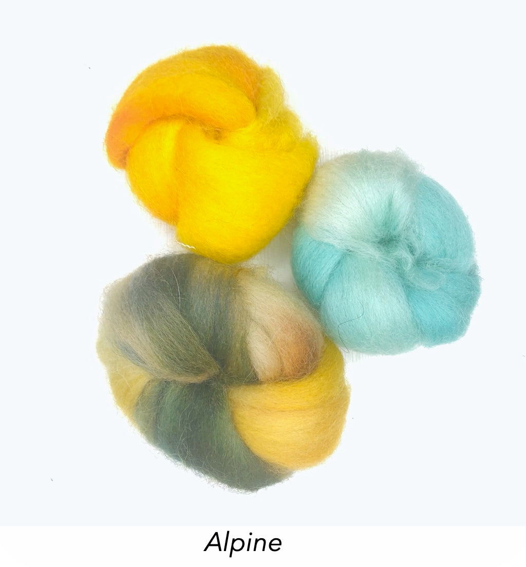 Felting Kits - Limited Edition Trio Collection