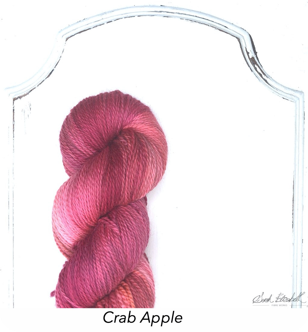Ecowash 2 ply Fingering, Modern Dyed, Variegated - Crab Apple