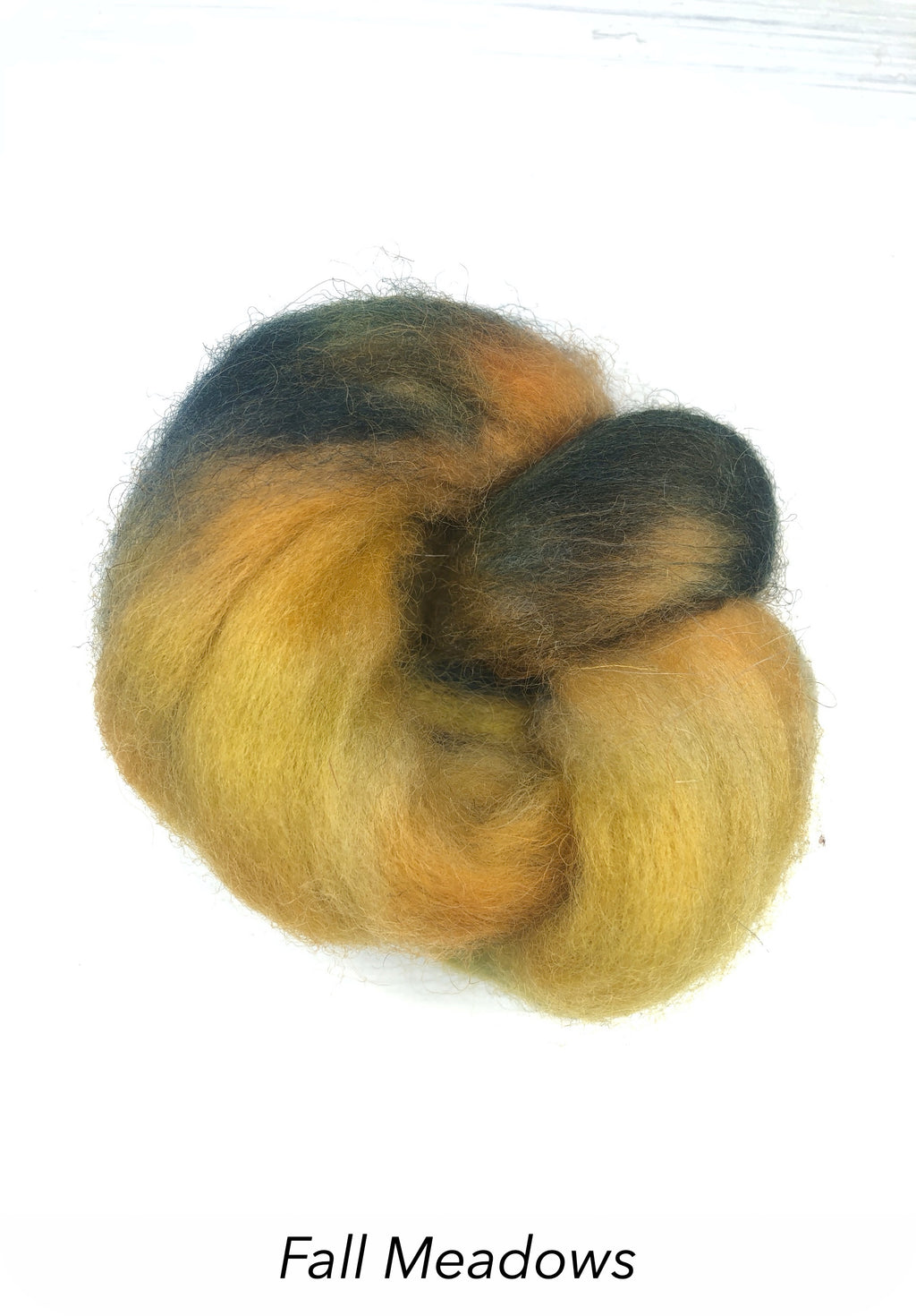 Hand Painted 10g Fibre Knot - Fall Meadows