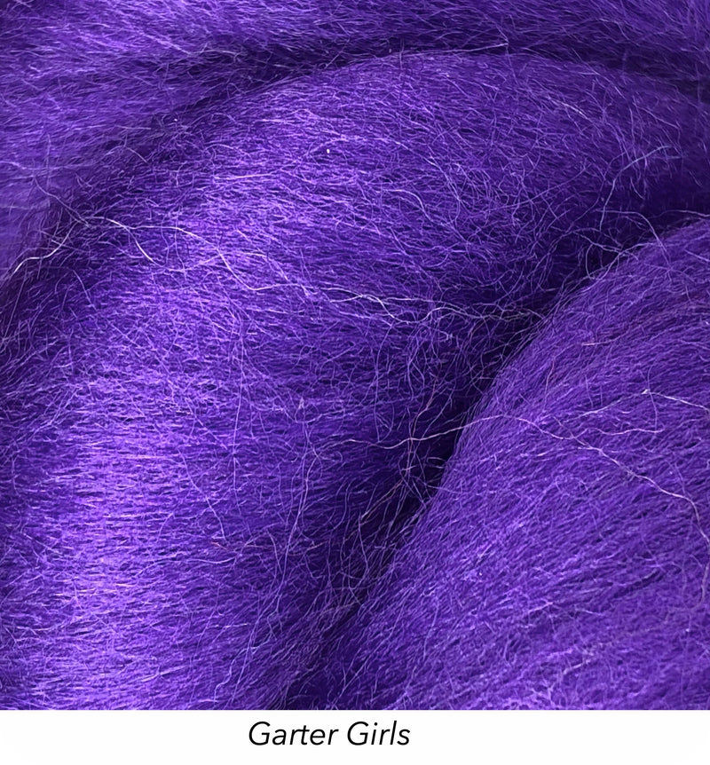 Solid Colour 10g Fibre Knot - Garter Girls