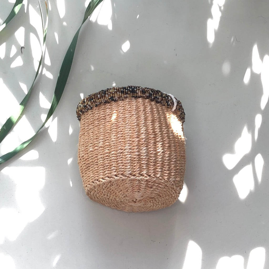 Beaded Sisal Baskets -– Mining School