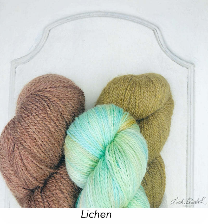 Maighdeann-ròin (Seal Maiden) Shawl Yarn Sets