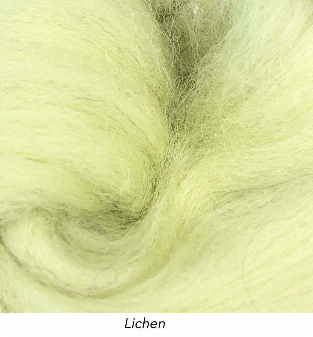 Solid Colour 10g Fibre Knot - Lichen