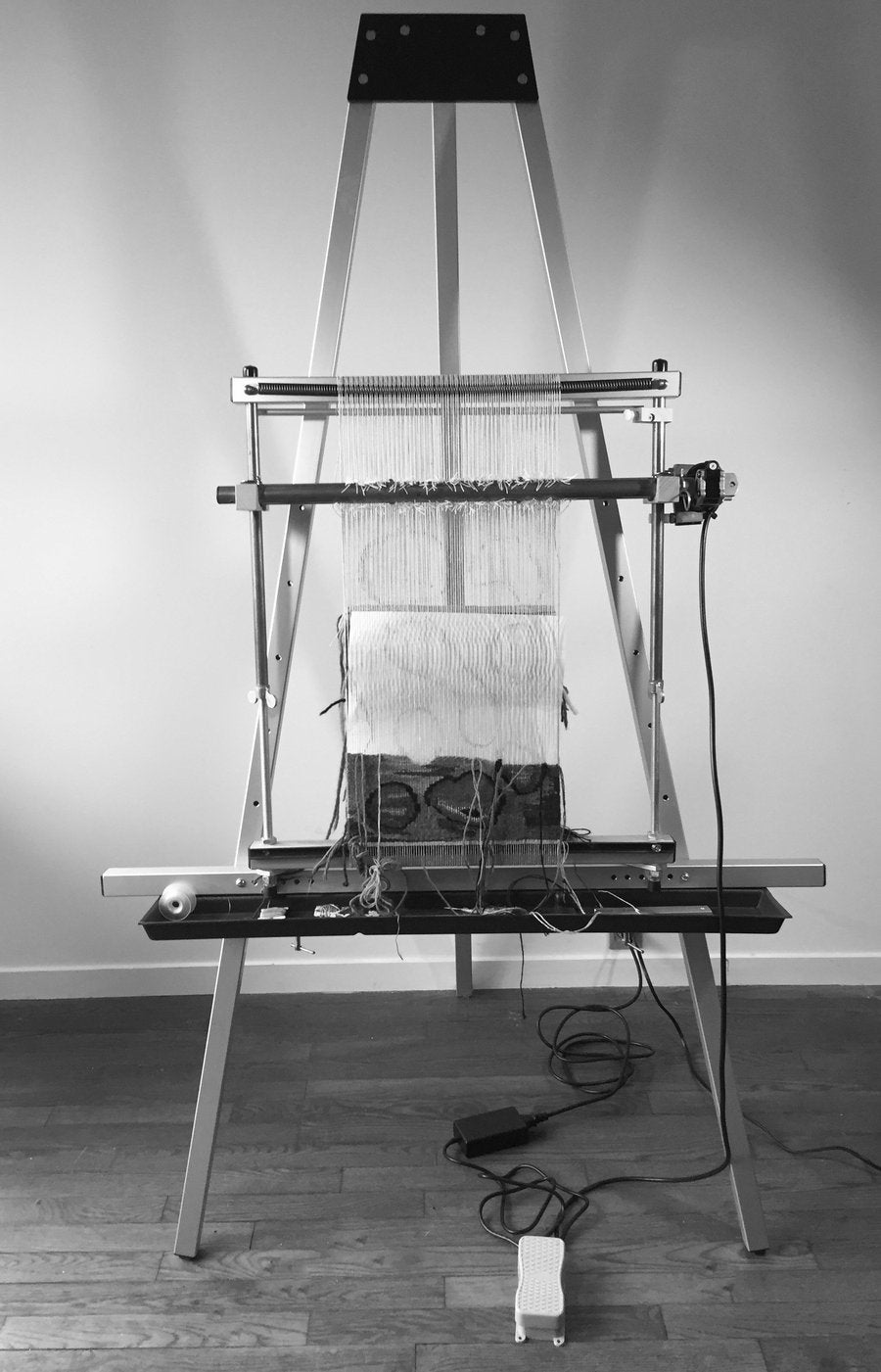 Sitting/Standing Loom Stand