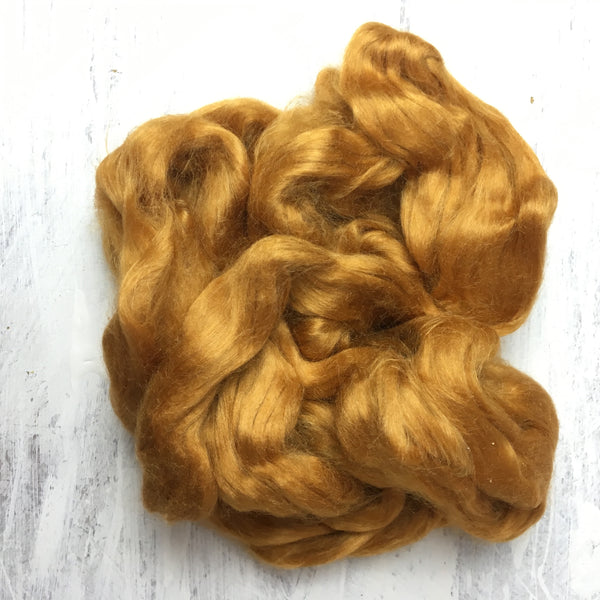 Eri Silk ~ Naturally Golden ~ Sarah Elizabeth Fibre Works