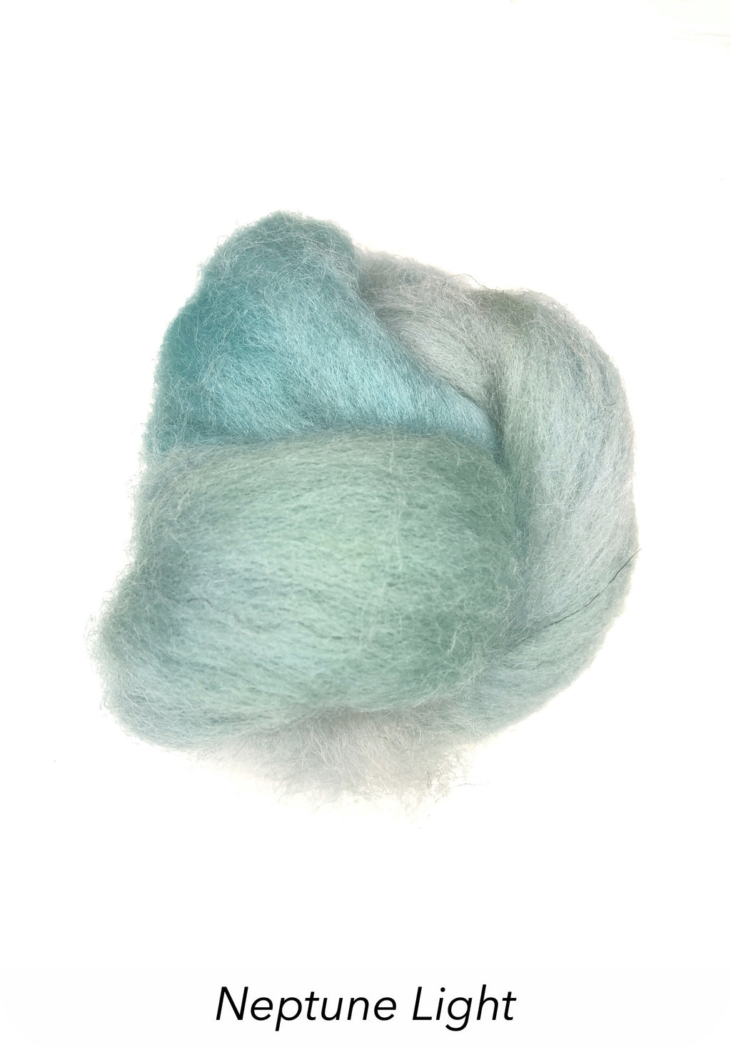 Hand Painted 10g Fibre Knot - Neptune Light