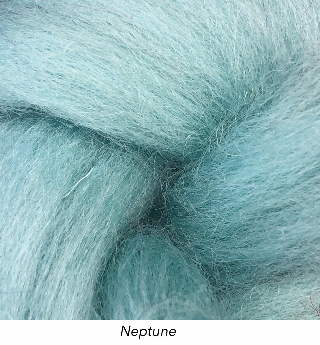 Solid Colour 10g Fibre Knot - Neptune