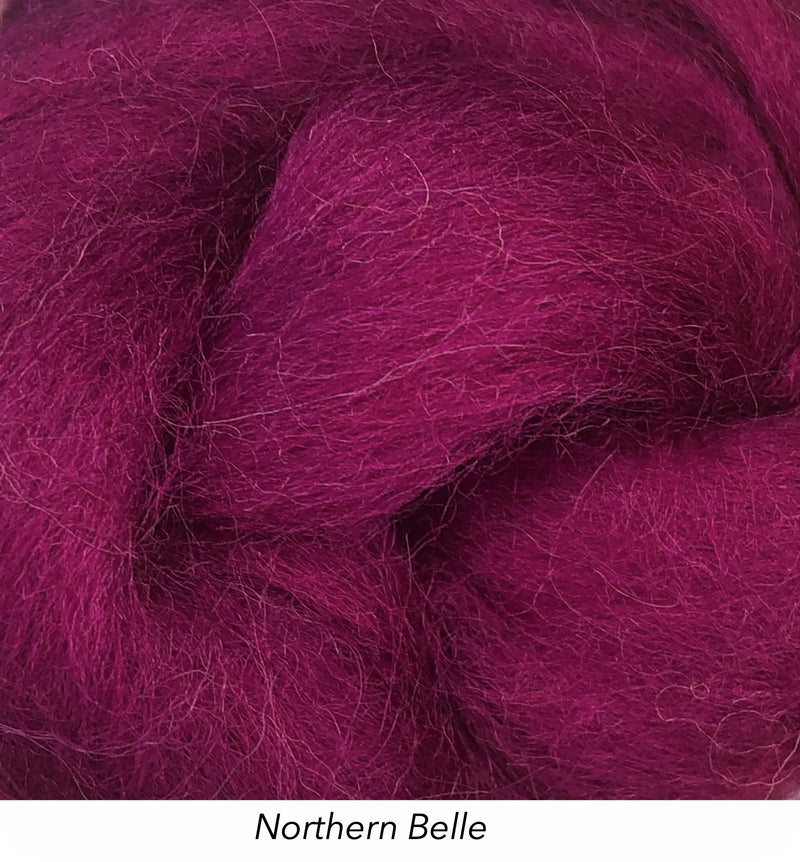Solid Colour 10g Fibre Knot - Northern Belle