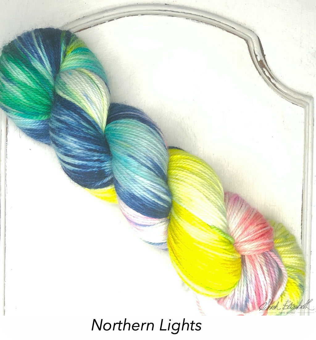 Ecowash Sport, Modern Dyed, Variegated - Northern Lights