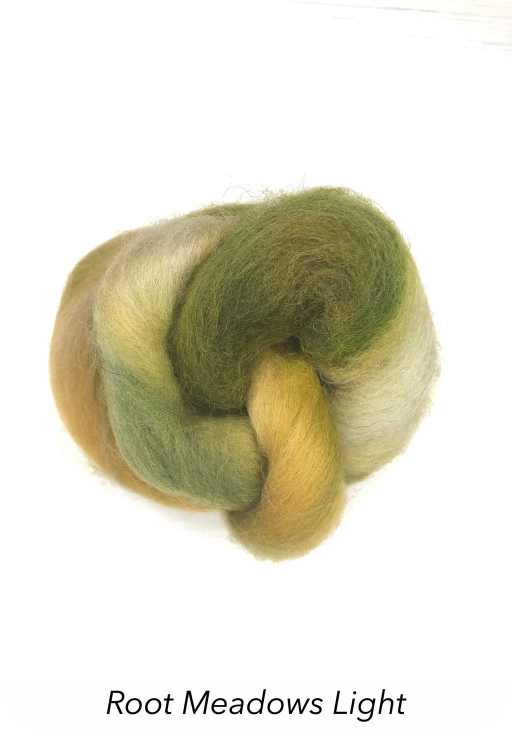 Hand Painted 10g Fibre Knot - Root Meadows Light