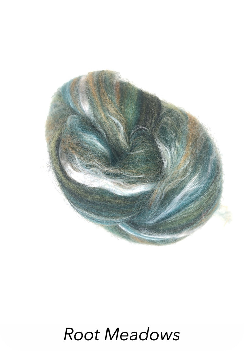 Ashford Silk/Merino Roving - Root Meadows