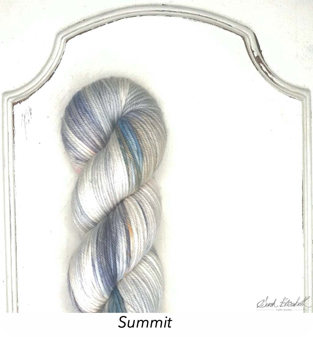 Ecowash Worsted, Modern Dyed, Variegated - Summit