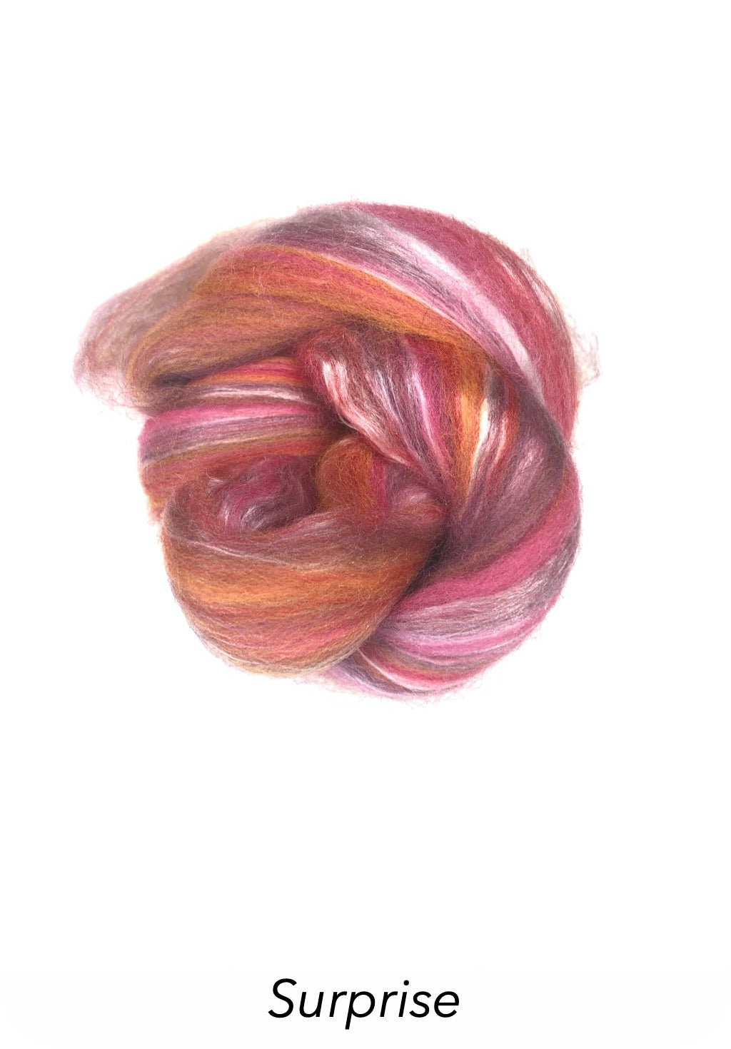 Ashford Silk/Merino Roving - Surprise