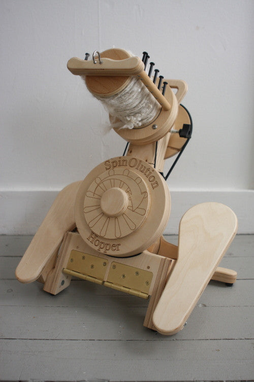 Hopper ~ SpinOlution ~ Sarah Elizabeth Fibre Works