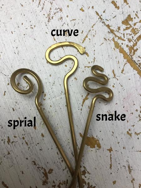 Sunshine Copper Shawl Pins