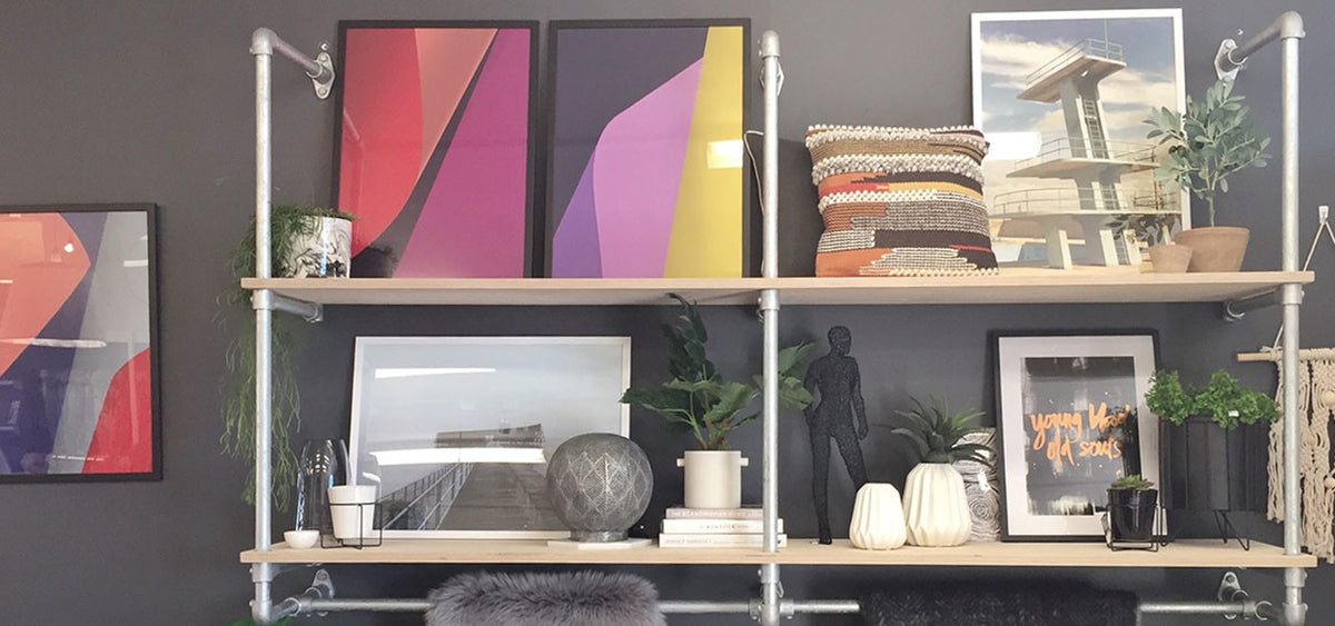 how to hang a gallery wall like a pro