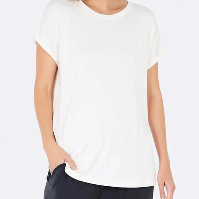 Boody White Downtime Lounge Top