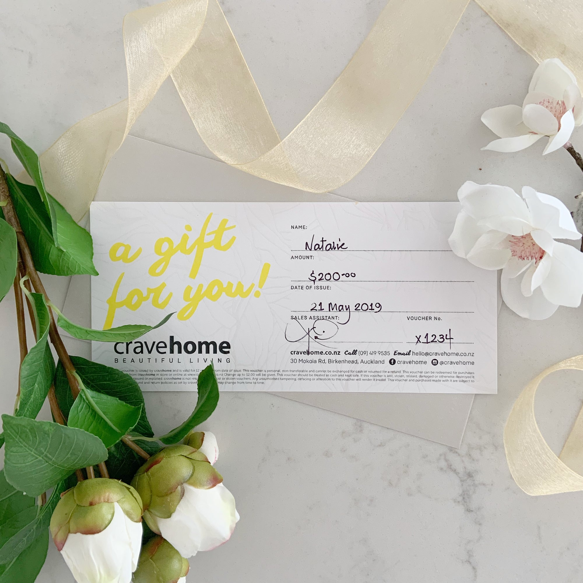 cravehome $200 Gift Card