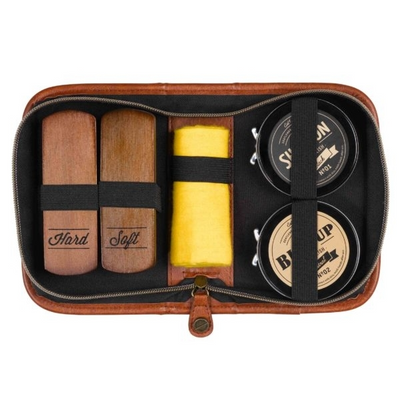 Charcoal Shoe Shine Kit