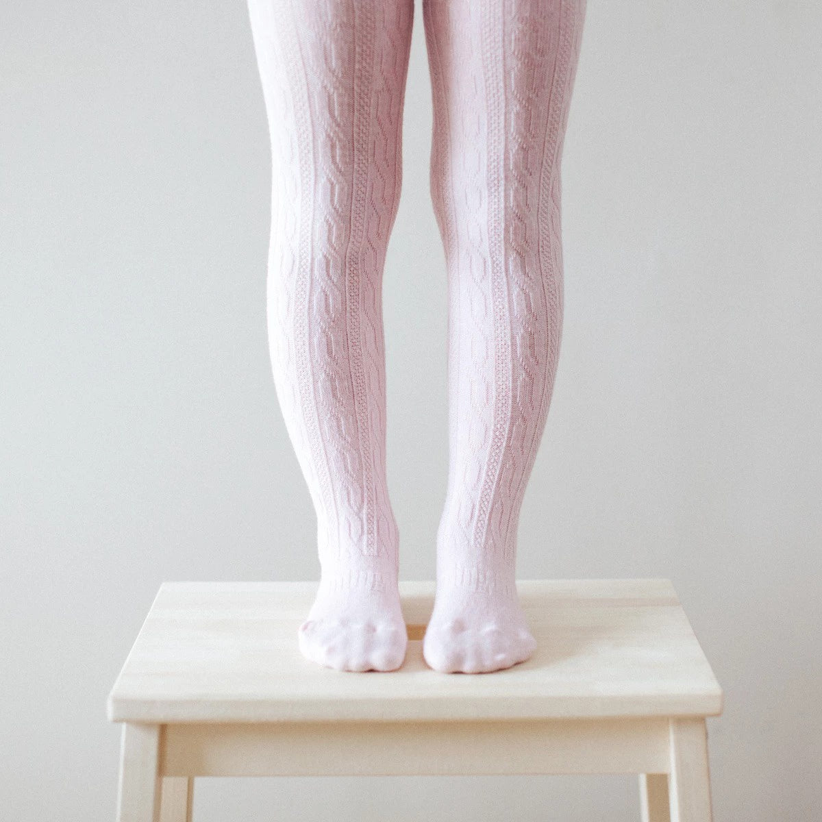 Lamington Cherry Blossom Cable Tights