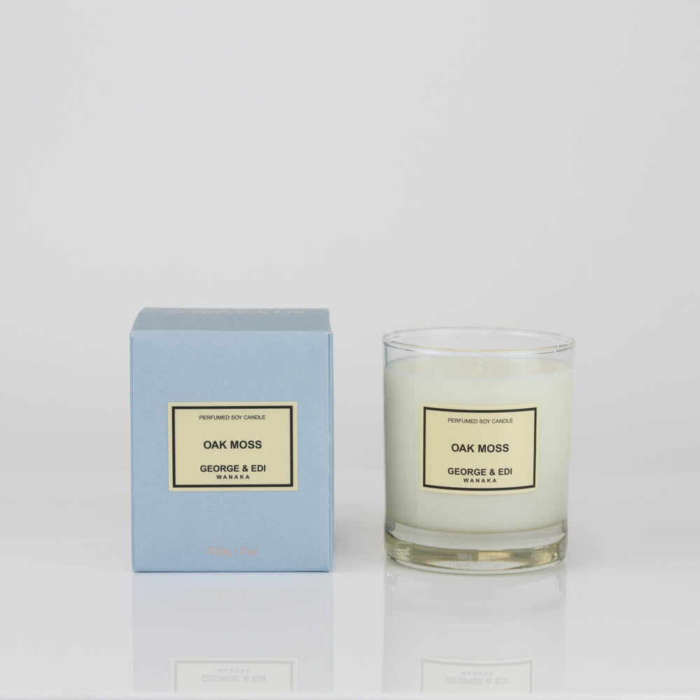 George & Edi Oak Moss Candle