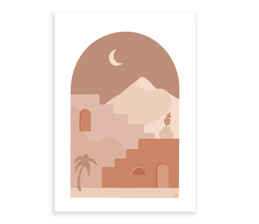 Lagom Design Marrakesh Print