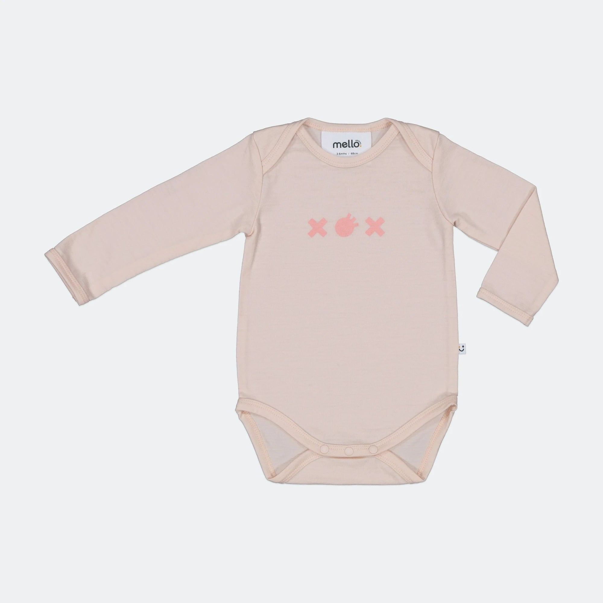 Mello Merino Peach Bodysuit