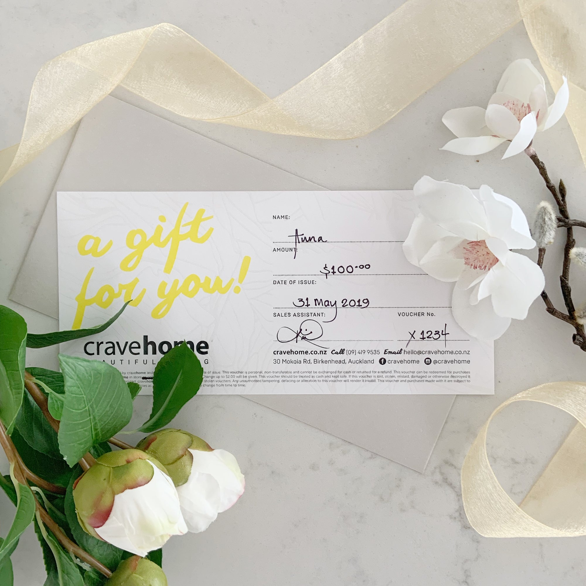 cravehome $100 Gift Card