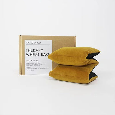 Mustard Velvet Wheat Bag