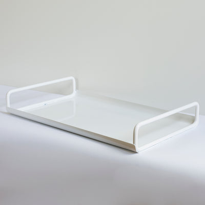 Ico Traders White All Day Tray