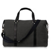 Citta Black Canvas Weekender Bag