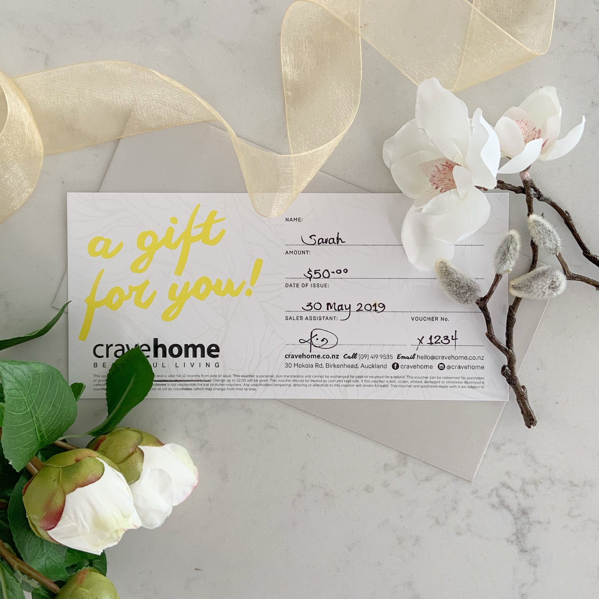 cravehome $50 Gift Card