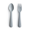 Mushie Cloud Fork and Spoon Set