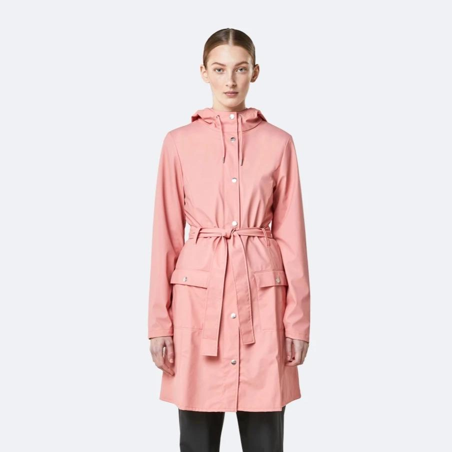 Rains Coral Curve Jacket