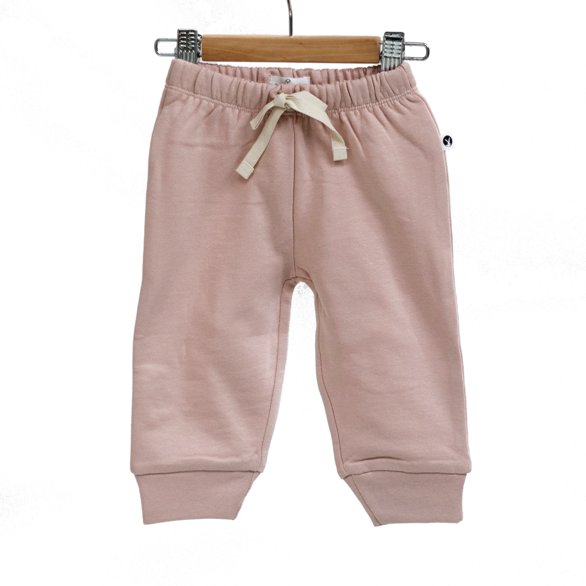 Burrow & Be Dusty Pink Fleece Pants