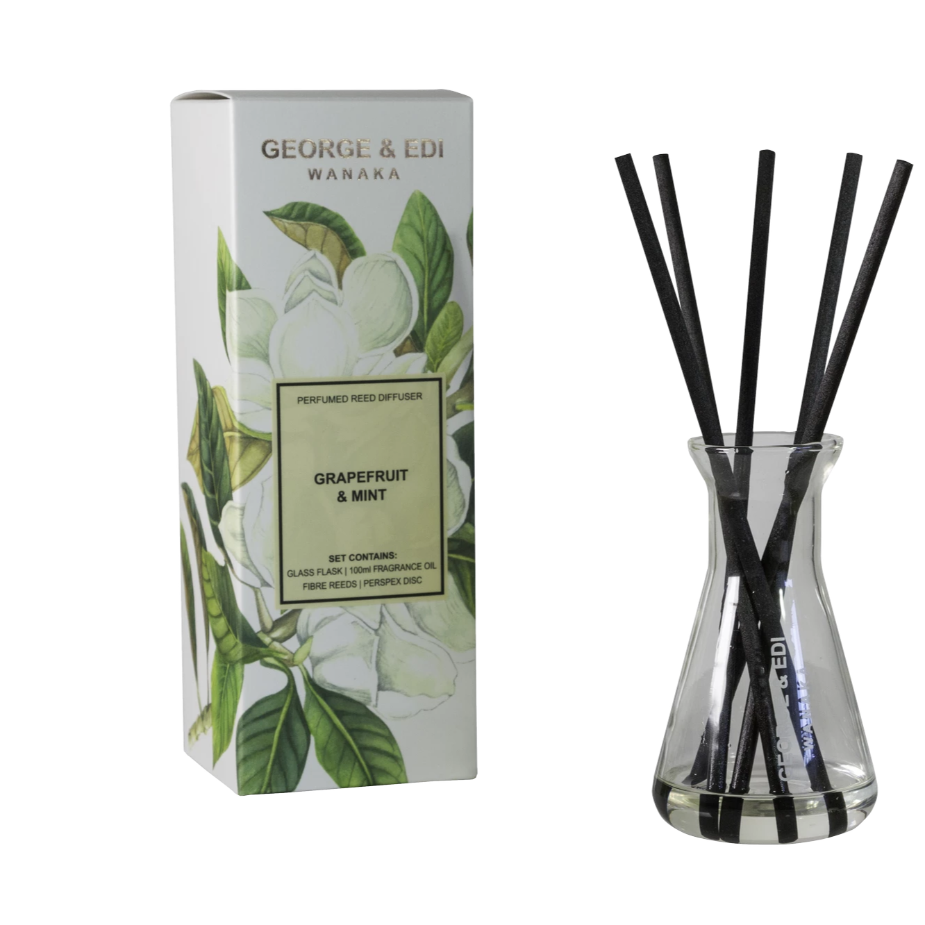 George & Edi Reed Diffuser Grapefruit & Mint