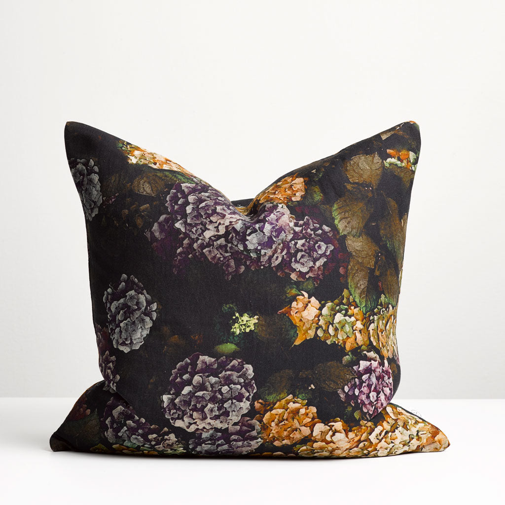 Thread Design Hydrangea Square Cushion
