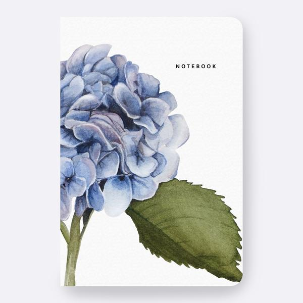 Hydrangea Notebook Father Rabbit